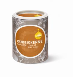 Kürbiskerne karamellisiert mit Zimt
