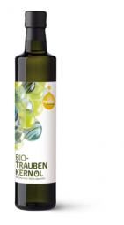 Bio Traubenkernöl von der Ölmühle Fandler